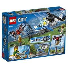 Конструктор LEGO City Police Воздушная полиция: погоня дронов 60207