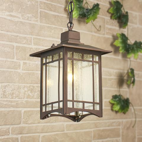 Vela H кофейное золото уличный подвесной светильник IP33 GL 1019H