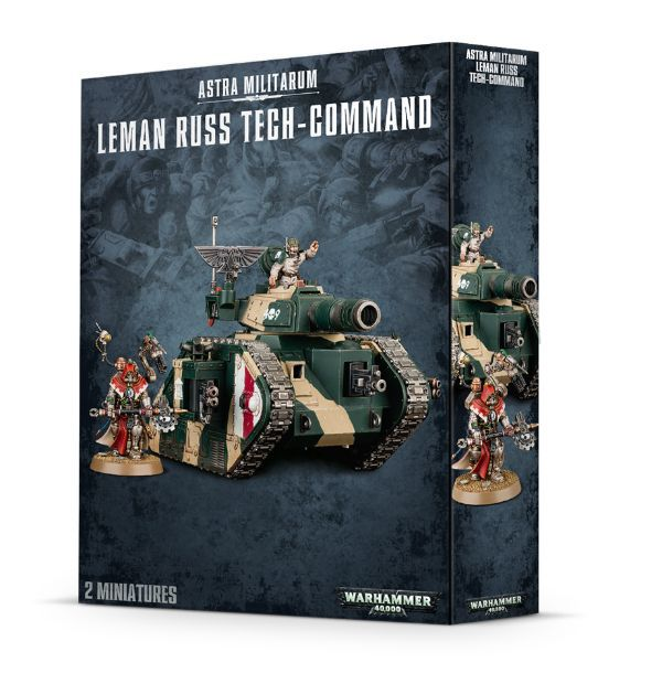 Leman Russ Tech-Command. Коробка
