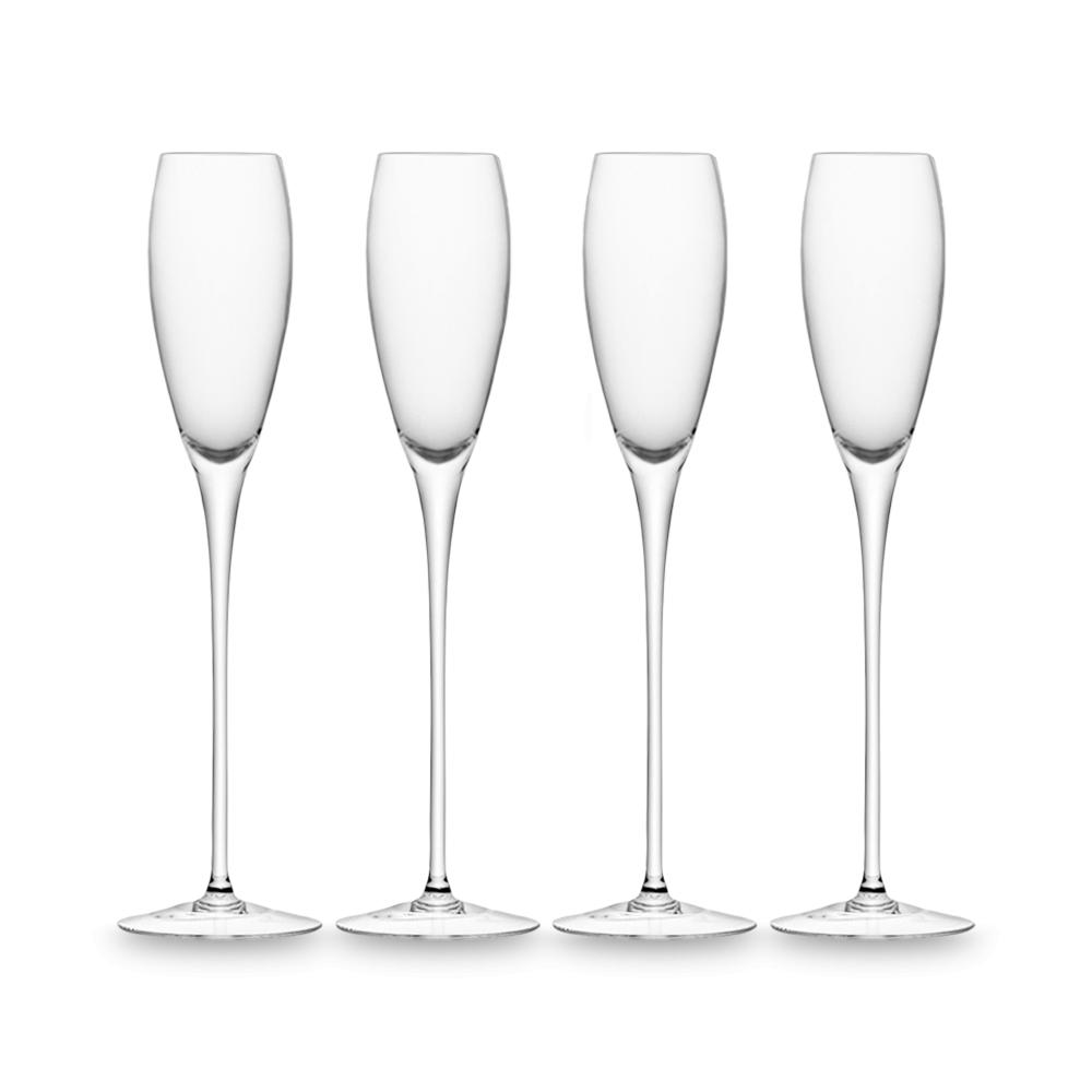 Набор из 4 бокалов-флейт для шампанского Wine 160 мл LSA International G279-07-991 | Купить в Москве, СПб и с доставкой по всей России | Интернет магазин www.Kitchen-Devices.ru