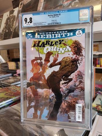 Harley Quinn #3 CGC 9.8