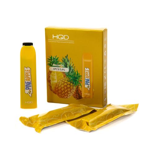 Одноразовая электронная сигарета HQD V2 Pineapple (Ананас)