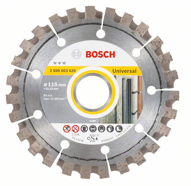 Алмазный диск Best for Universal 115-22,23 Bosch 2608603629