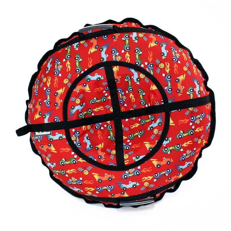 Тюбинг санки-ватрушка Hubster Люкс Plus Рэйс - Тюбинги, артикул: 931302