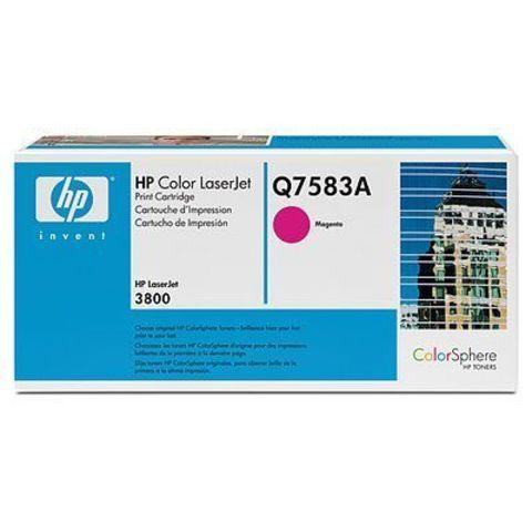Картридж HP Q7583A magenta - тонер картридж для HP Color LaserJet 3800, 3800dn, 3800dtn, 3800n, CP3505, CP3505dn, CP3505n, CP3505x (пурпурный, 6000 стр.)