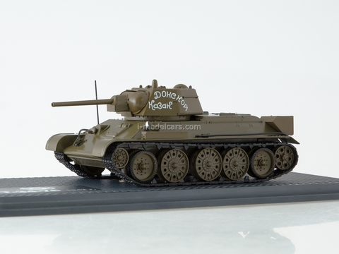 Tank T-34-76 Don Cossack khaki 1:43 Start Scale Models (SSM)