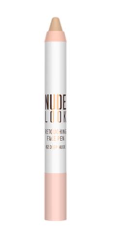 Golden Rose Карандаш-корректор для макияжа лица NUDE LOOK RETOUCHING FACE PEN 02