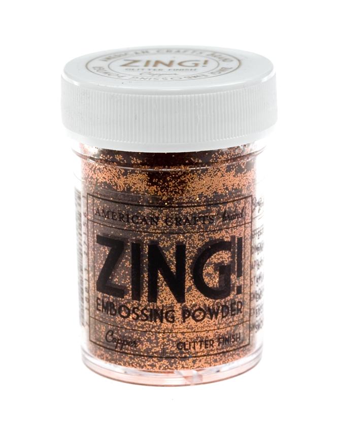 Пудра для эмбоссинга ZING! Copper Glitte