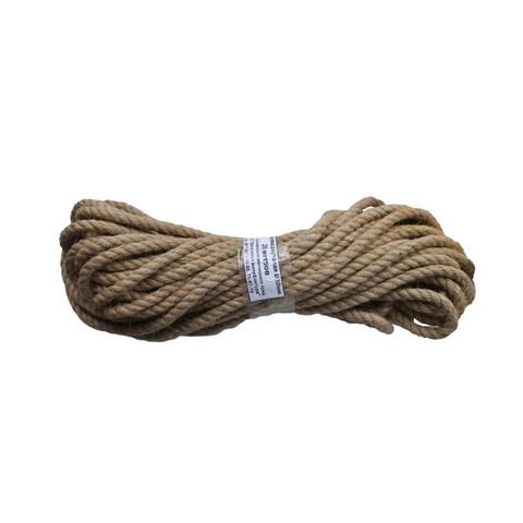 Веревка джутовая 10мм в мотках по 20м