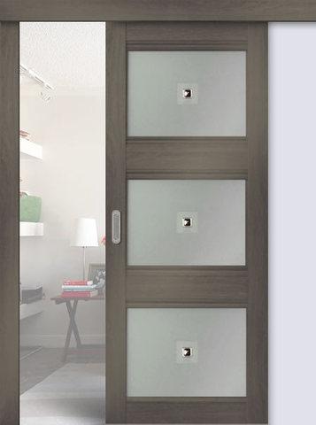 Дверь раздвижная Profil Doors №3Х, цвет орех пекан, глухая