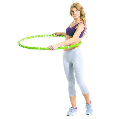 Усовершенствованный массажный обруч с 49 массажными шариками – лучш...