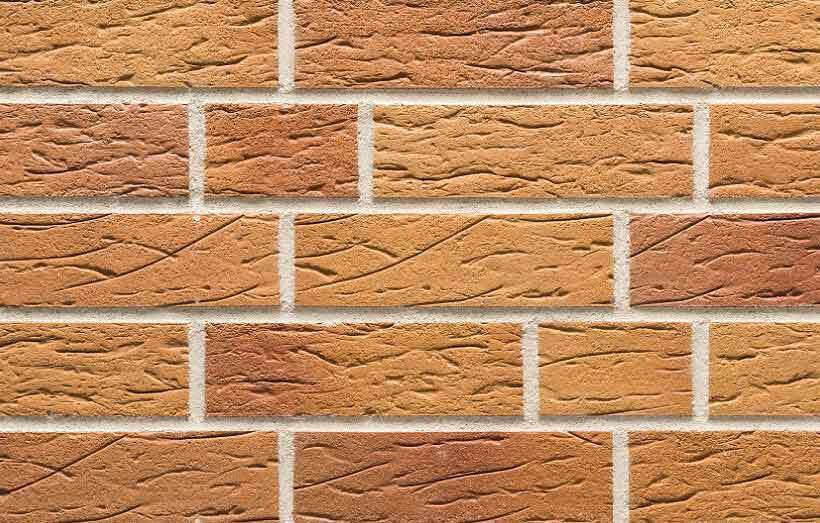 Stroeher, плитка-клинкер под кирпич, цвет 405 amsterdam, серия Keraprotect, неглазурованная, поверхность под шагрень с посыпкой, 240x71x11