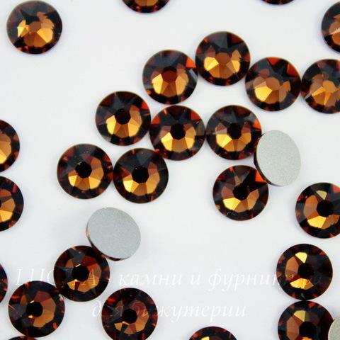 2088 Стразы Сваровски холодной фиксации Smoked Topaz ss30 (6,32-6,5 мм)