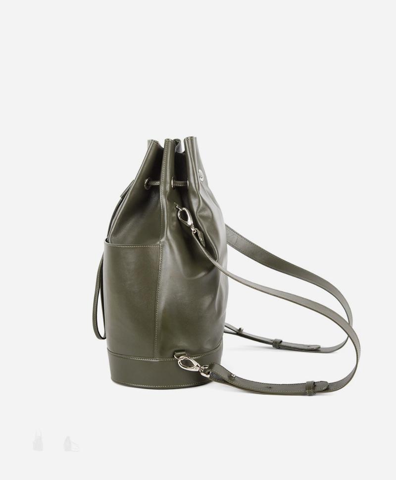 Рюкзак-торба цвета хаки