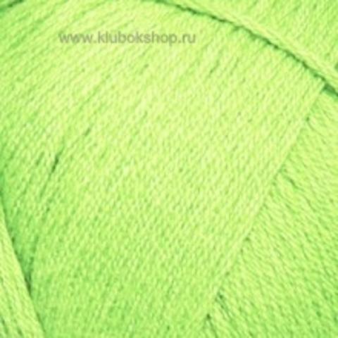 Пряжа Хлопок натуральный (Пехорка) Салатовый 41
