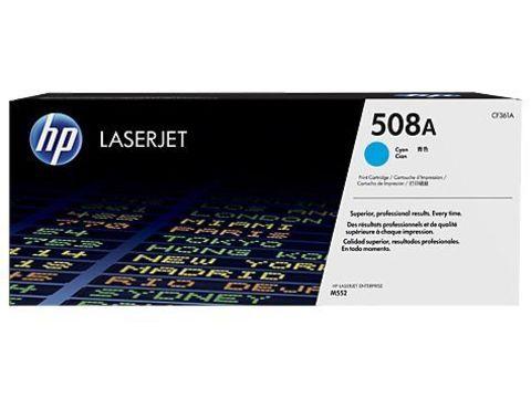 Картридж голубой 508A HP Color LaserJet Enterprise M553. Ресурс 5К (CF361A)