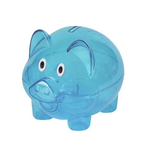 Копилка Pig Blue