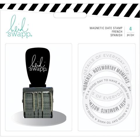 Штамп-роллер Heidi Swapp Memory Planner Magnetic Stamp Color Fresh, Date