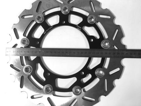 Передние тормозные диски Dream-moto (2 шт.) для Yamaha YZF R1 2009>