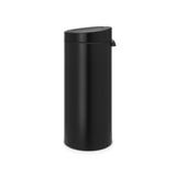 Мусорный бак Touch Bin New (30 л), Черный матовый, арт. 115301 - превью 3