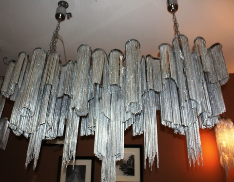 chandelier STREAM  by  Terzani ( 150 cm )