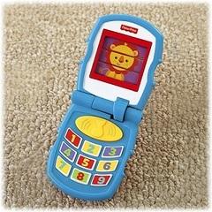 Fisher Price Дружелюбный телефон-раскладушка (Y6979)