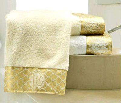 Набор полотенец 3 шт Roberto Cavalli Gold бежевый