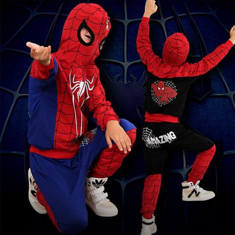 Человек паук костюм спортивный