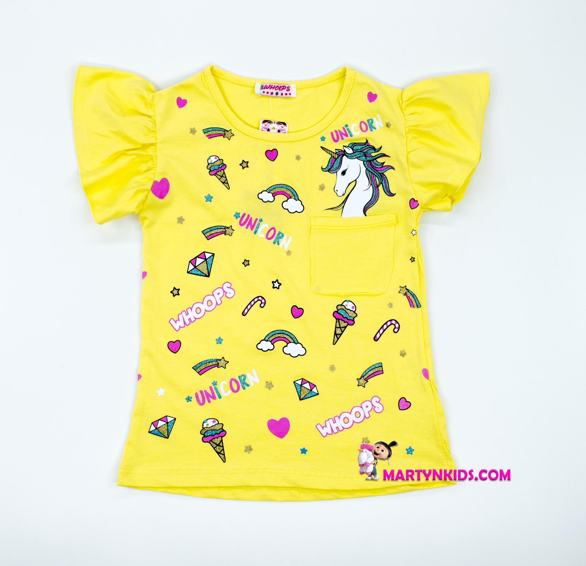 2592  футболка WHOOPS  с кармашком