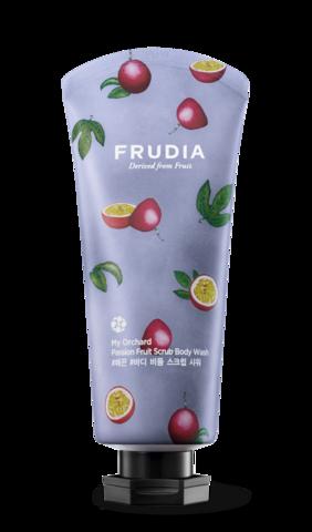 Frudia My Orchard Passion Fruit Scrub Body Wash Скрабирующий гель для душа с маракуйей 200мл