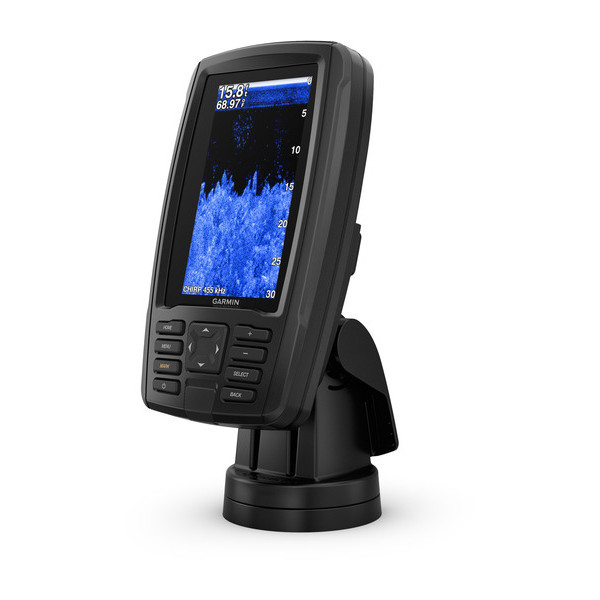 Garmin Echomap Plus 43cv вид сбоку