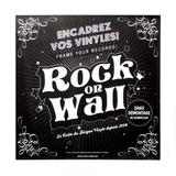 Настенная Рамка Для Виниловых Пластинок, Белая (Rock On Wall)