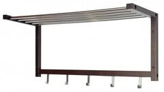 Вешалка настенная 581006 — дерево/металл