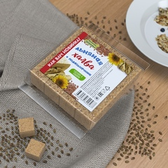 Компас здоровья халва подсолнечно-льняная с семенами льна, 250 г