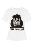WOMEN'S T-SHIRT JUST CHILLING
