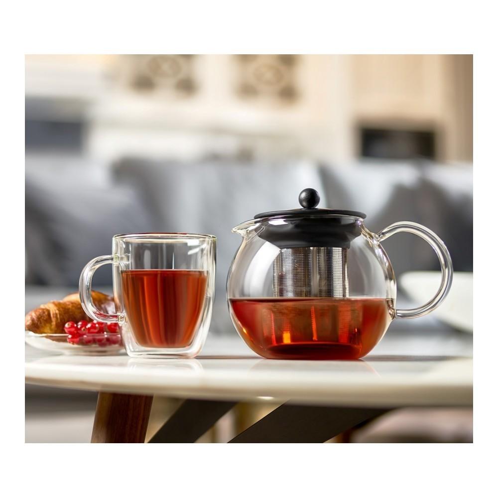 Чайник заварочный Walmer Baron (1 литр), черный
