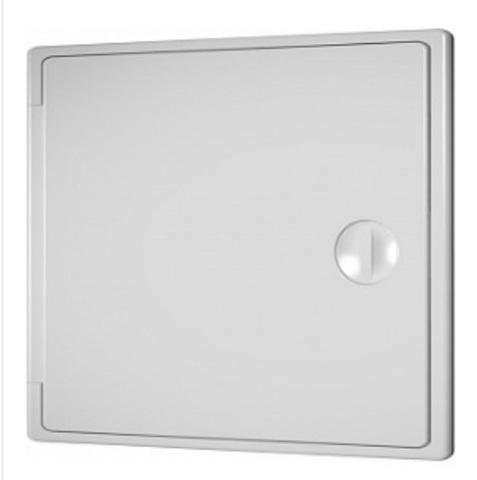 Люк-дверца накладной с замком 200х250 пластиковый