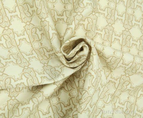 Постельное белье семейное Roberto Cavalli Basic бежевое