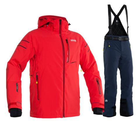 Горнолыжный костюм мужской 8848 Altitude Switch2/Venture (red)