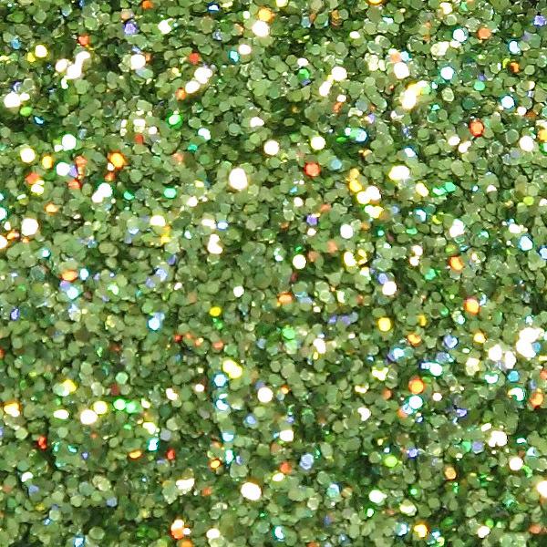 Глиттер для мыла Зелёный голографический