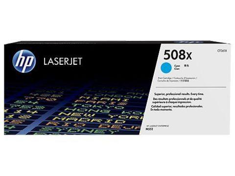 Картридж голубой 508X HP Color LaserJet Enterprise M552dn, M553dn, M553n, M553x Cyan. Ресурс 9К (CF361X)
