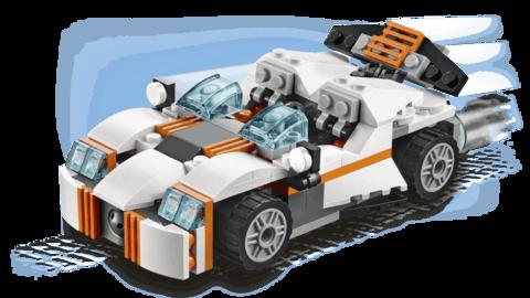 LEGO Creator: Летающий робот 31034
