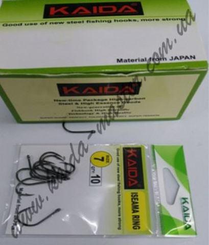 Крючки Kaida зеленые