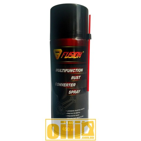 Fusion F140 MULTIFUNCTION RUST CONVERTER SPRAY 450ml