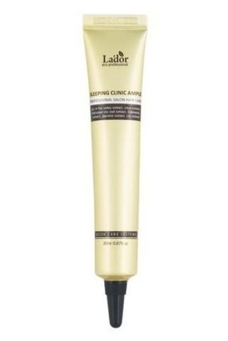 Ночная кератиновая сыворотка для волос La'dor Sleeping Clinic Ampoule