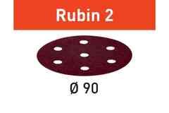 Шлифовальные круги STF D90/6 P80 RU2/50 Rubin 2
