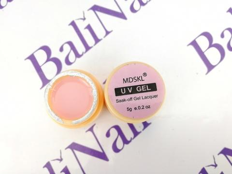 Гель моделирующий эластичный камуфляжный розовый (06), 5 грамм