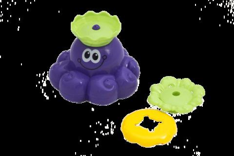 Осьминог Олли Игрушка для ванной