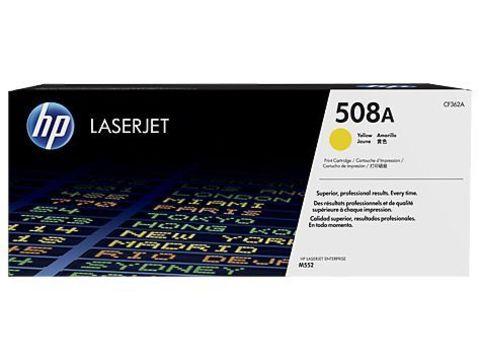 Картридж желтый 508A HP Color LaserJet Enterprise M553. Ресурс 5К (CF362A)
