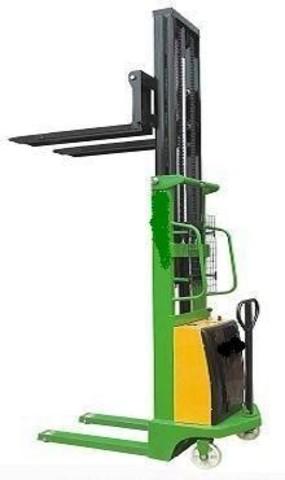 Штабелер гидравлический с электроподъемом TOR г/п 2000 кг 2500 мм CTD